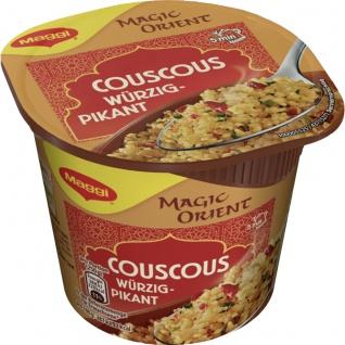 Maggi Magic Orient 5 Minuten Terrine Couscous würzig pikant 63g