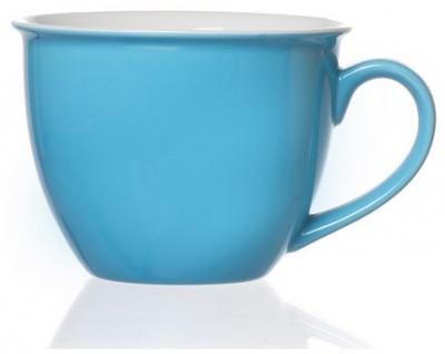 Ritzenhoff und Breker Doppio in der Farbe hellblau Jumbo Obertasse