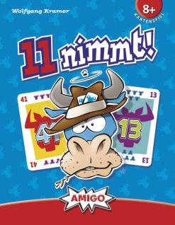Amigo Spiel 11 nimmt das super lustige Kartenspiel mit Spaßfaktor