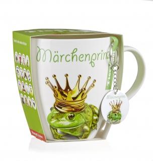 Ritzenhoff Breker Jumbotasse Märchenprinz mit Anhänger Frosch 600ml