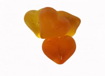 Pfirsich Herzen ohne Fett Menge:1000g