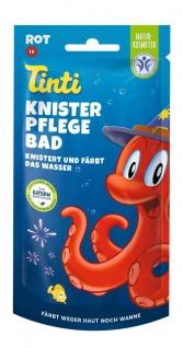 Tinti Knister Pflegebad rot 50g