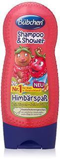 Bübchen Kids Shampoo und Shower Himbärspaß, 4er Pack (4 x 230 ml) - Vorschau