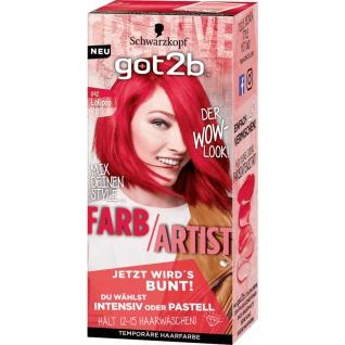 GOT2B Farb/Artist 092 Lollipop Rot