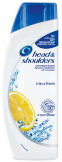 Head & Shoulders Anti-Schuppen Shampoo citrus fresh, 6er Pack 400ml