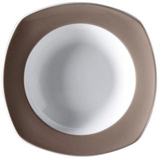 Ritzenhoff und Breker Suppenteller Speiseteller Braun Keramik