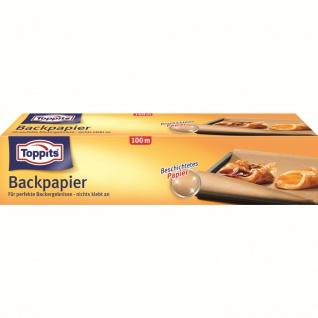 Toppits Backpapier Großrolle Für perfekte Backergebnisse nichts klebt an