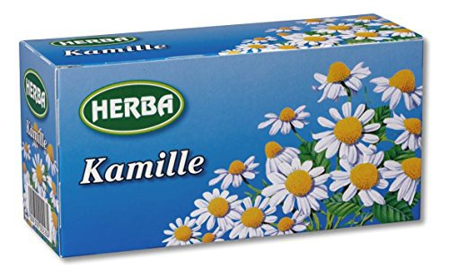 Herba Kamillentee mild im Geschmack Kräutertee Kamille 10er Pack