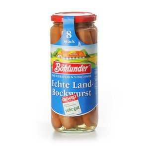 Böklunder Echte Landbockwurst 720g