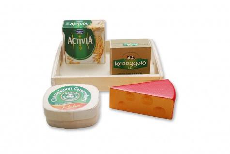 Kaufladen Kaese - Butter - Tablett