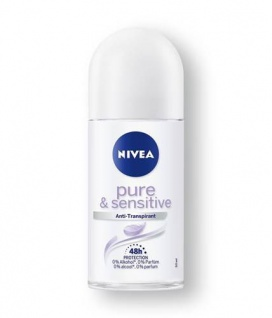 Nivea Roll-on Sensitive und Pure Anti Transpirant Schutz 50ml 3er Pack