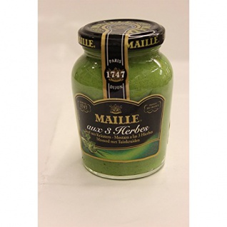 Maille Dijon Senf 3 Kräuterzusatz aromatischer Geschmack 200g