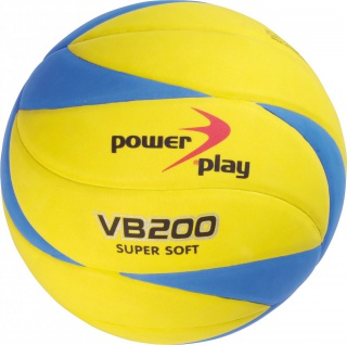 Volleyball VB 200 V3Tec Power Play super soft Material gelb blau