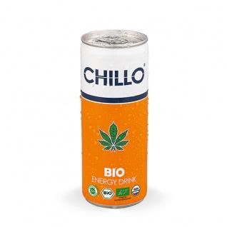 Chillo Bio Energy Drink aus Hanfsamen und natürlichem Koffein 250ml