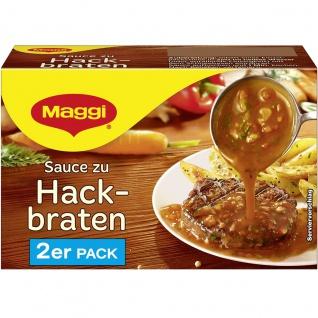 Maggi Sauce zu Hackbraten perfekt zu Fleischgerichten 2er für 2x 250ml