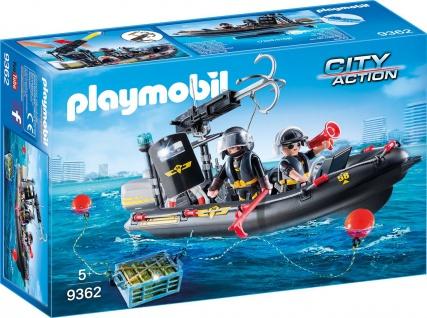 Playmobil SEK Schlauchboot