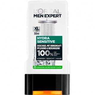 Loreal Paris Men Expert Duschgel Hydra Sensitiv Birkensaft 300ml