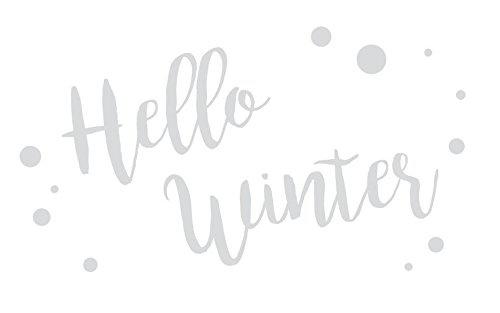 Plaetzchen-Stempel Hello Winter