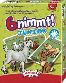 Amigo 6 nimmt Junior Ein schönes Spiel für Kinder ab 5 Jahren