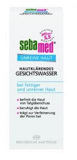 Sebamed Unreine Haut Hautklärendes Gesichtswasser, 200 ml