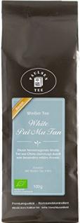 Paulsen Pai Mu Tan Weißer Bio Tee aus China mild blumig 100g