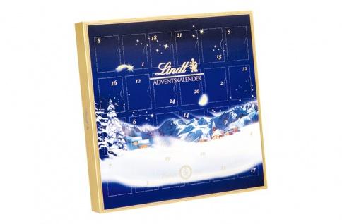 Lindt Mini Tisch Adventskalender Weihnachtszauber Schoko 115g 3er Pack