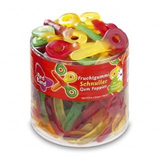Red Band zweifarbige Fruchtgummi Schnuller mit Fruchtgeschmack 1200g