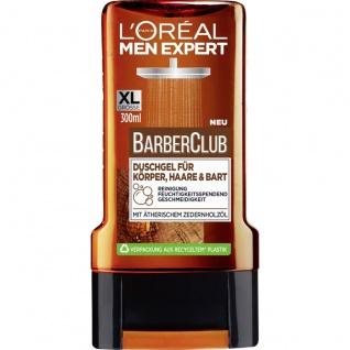Loreal Men Expert Duschgel Barber Club maskuliner Duft 300ml