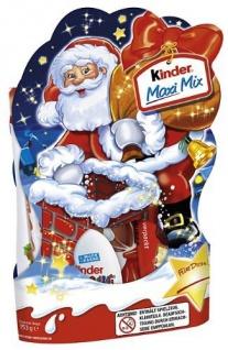Ferrero Kinder Maxi Mix Schokolade Weihnachten 153g