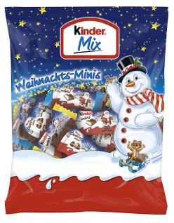 Ferrero Kinder Mix Beutel Minis mit Milchschokolade 156g 4er Pack