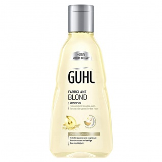 Guhl Farbglanz Blond Shampoo mit sinnliche Dufterlebnis 250ml