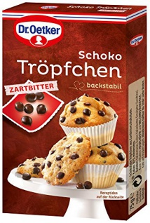 Dr. Oetker Schoko Troepfchen, 10er Pack (10 x 75 g)