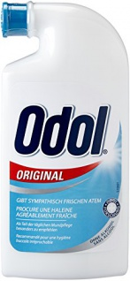 Odol-med 3 Mundwasser Original, 125ml, 2er Pack (2 x 125 ml)