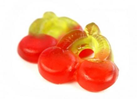 Fruchtgummi Doppelkirschen mit fruchtigem Kirschgeschmack 1000g