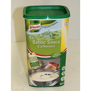 Knorr Sahne Sauce Carbonara