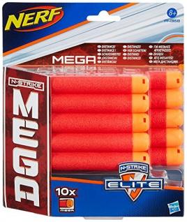 Hasbro Nerf A4368E24 - N-Strike Elite MEGA Darts, Nerf Zubehör