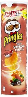 Pringles Hot Paprika Chili Stapelcips scharf und würzig 200g