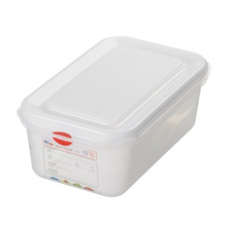 Vorratsdose Gastronorm 1/4 transparent 265x162x150mm