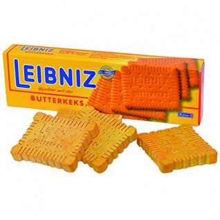 Kaufladen Leibniz Butterkeks aus Holz
