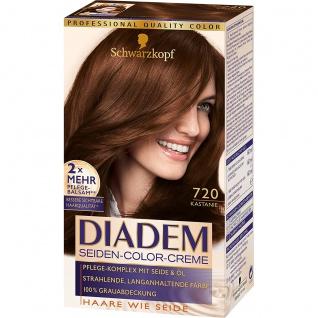 DIADEM Seiden-Color-Creme 720 Kastanie 180ml Stufe 3