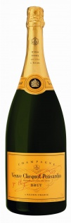 Champagner Veuve Clicquot Brut aus Frankreich ein grandioser Klassiker 1500ml
