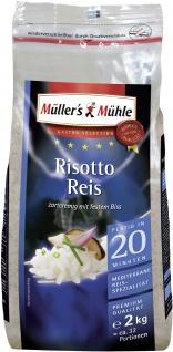 Müllers Mühle für Risotto zartcremig bissfest Gastro Selection 2000g