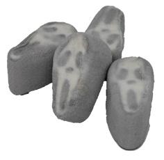 Mellow Speck Geister weiß grau Scream Gesichter Schaumzucker 1000g