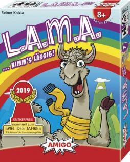 Amigo LAMA Ein spannendes und tolles Kartenspiel für die Familie