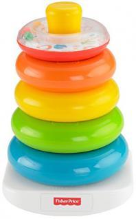 Fisher-Price - Farbring Pyramide - Spielzeug für Kinder Baby