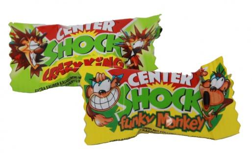 Center Shock Jungle Mix extra saures Kaugummi mit flüssigem Kern 4g