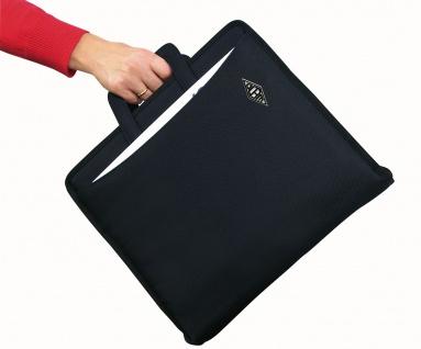 WEDO Ordnertasche A4 aus Polyester mit Reisverschluss in Schwarz