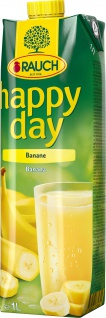 Rauch Happy Day Banane HAPPY DAY Bananennektar Farbe gelb 1000ml