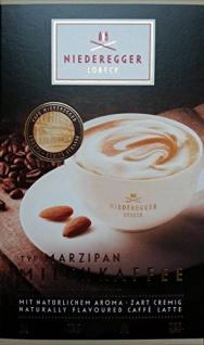 Niederegger Marzipan Aroma Milchkaffee 10 Portionsbeutel 200g