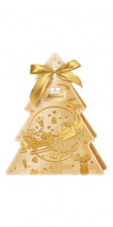 Niederegger Nougat Tannenbaum mit Sternen aus Schokolade 90g